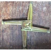 """St Bridget's Cross 10"""" Made In Ireland"""