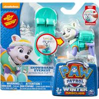 Spin Master Paw Patrol Snowboard Everest Action Pack Pup