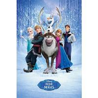 Disney Frost plakat  / 61 * 91 cm