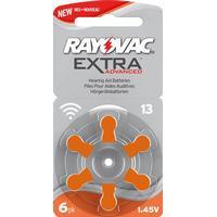 Ild International AB Rayovac EXTRA Advanced 13 ORANGE 6 st