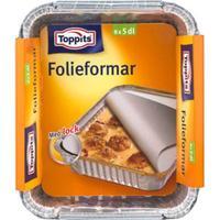 Toppits Toppits Folieforme 5 dl, 8 stk. 190810TOPP Modsvarer: N/A