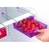 Køleskabs skuffe med slide funktion.