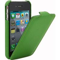 Melkco lædercover til iPhone 4 / 4S. Grøn.