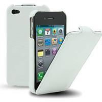 Melkco lædercover til iPhone 4 / 4S. Hvid.