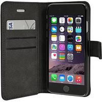 RadiCover Mobilcover Iphone 5/5S sort ægte læder flip-side 1 stk