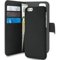 Puro 2-i-1 Wallet med aftageligt magnet cover til iPhone 6 / 6S