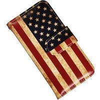 iPhone 5 och 5s lyxfodral med Amerikanska flaggan