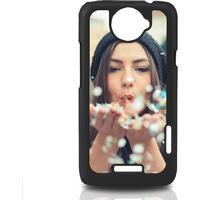 Sort cover til HTC One X med billede