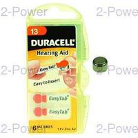 Duracell 1.4v Hörapparats Batteri 8 x 6 st (48 st) (Nr 13)