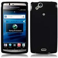 Skal Till Sony Ericsson Arc / arc S/ Silikon skal / Svart