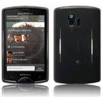 Skal Till Sony Ericsson Xperia Mini / Gel/TPU Skal / Svart