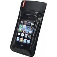 Phone Bag Klickfix mit Adapter transparent/schwarz mit Drehkupplung