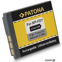 eQuipIT Batteri Sony NP-FD1 BD1 680mAh 3.6V