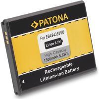 eQuipIT Batteri Samsung Galaxy S2 Mini EB-494358VU 1500mAh