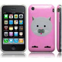 Skal Till iPhone 3G / 3GS / Gel Skal / Clive The Cat / Rosa