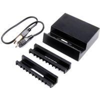 Magnetisk laddare/docka till Sony Xperia Z1/Z1 Compact/Z2 SVART - Svart