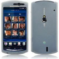 Xperia Neo silikon skal transparent mobilskal fodral skydd sony ericsson