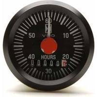 VDO Timräknare int 52mm endast12V