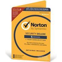 Symantec Norton Security Deluxe 3.0 Nordic 1YR 1-Usr 5-Dev #Attach (21357642)