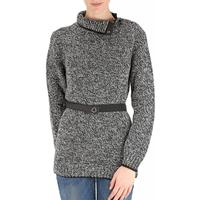 Moncler Sweater for Women Jumper On Sale, Light Grey, Wool, 2017