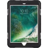 Griffin Survivor All-Terrain Rugged Case iPad 2018, iPad 2017 Sort, Røgfarvet (GB43543)