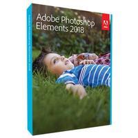 Adobe Photoshop Elements 2018 Windows Svensk DVD