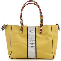 Le Pandorine Girls Handbag On Sale, Yellow, Leather, 2017