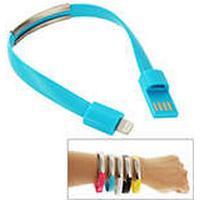 Armband och Lightning Kabel, Blå