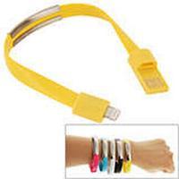 Armband och Lightning Kabel, Gul