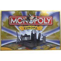 Hasbro Monopoly Europa brætspil
