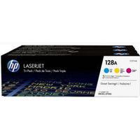 Paket med 3st färgtoner till HP 128A