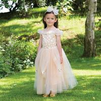Travis Prinsesse kostume Golden Princess str. 3 - 5 år Travis Designs