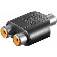 Wentronic RCA-2RCA F-F Adapter
