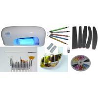 Bra Liten Kit För UV Gel Naglar! - Manikyr - Nagel Kit