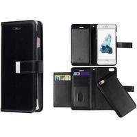 Accezor Plånboksväska, Kortfack, Magnetskal, Samsung Galaxy S6 Egde Plus, Svart