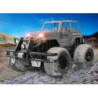 MegaLeg Mud Car SUV Fjernstyret 1:16, Silver