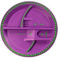 Constructive Eating Tallerken fra Constructive Eating - Blomsterhave