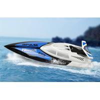 WL Toys Tiger Shark Fjernstyret speedbåd m/servo, 2.4GHz