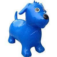 uber kids Happy Hopperz Ride On Bouncing Toy Blue Dog