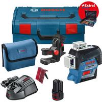 Bosch Laser niveau Bosch GLL 3-80 C + holder BM 1 + Gedore tilbehør