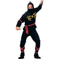 Smiffys Ninja Maskeraddräkt Standard