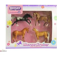 Breyer, Horse Crazy 4pc Gift Collect.