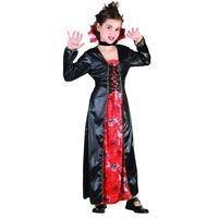Vegaoo Spindelhäxa - utklädnad barn 122 - 134cm (7-9år)