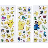 3D klistermærker Pokémon