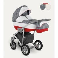 Camarelo Vision Kombikinderwagen XVi-1 grey red grau rot - Kollektion 2018