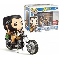Funko Pop figur . Marwel -  Wolverines Motorcycle - 15cm - Exclusive Limited