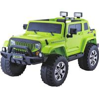 ToyandModelStore Jeep Rubicon Style Kids Ride On Toy Car 4Wd 24V Electric With Parental Control Green