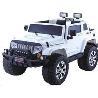 ToyandModelStore Jeep Rubicon Style Kids Ride On Toy Car 4Wd 24V Electric With Parental Control White