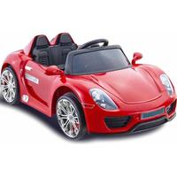 ToyandModelStore Porsche 918 Spyder Style 12V Battery Powered Kids Ride On Car Red With Parental Control