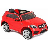 ToyandModelStore 12V Electric Ride On Car Official Mercedes A45 Amg Licensed Model In Red With Parental Control